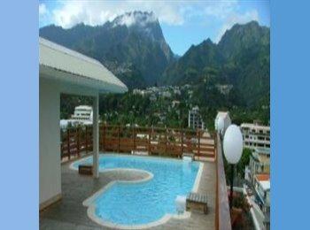 Appartager FR - Belle chambre double privée et climatisée - Papeete, Polynésie Française - 630 € /Mois