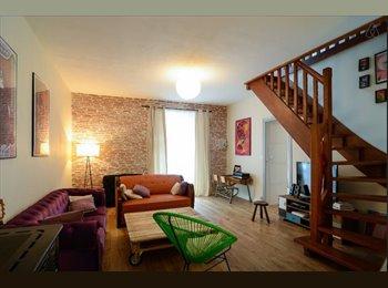 Cherche collocataire maison Lorient (proche gare)