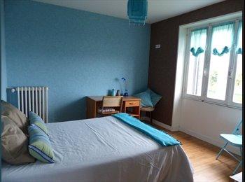 Appartager FR - chambre meublée dans maison au calme, Brest - 350 € /Mois
