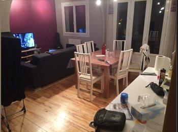 Chambre de 11m2 dans un appartement équipé