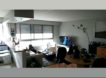 Appartager FR - loue chambre meublée de 13m2 dans T3 de 90m2 - Courbevoie, Paris - Ile De France - 490 € /Mois