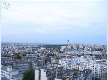 Place des Fetes Colocation appt (65m2)