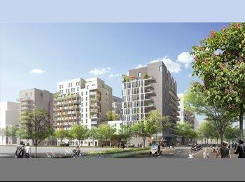 colocation dans immeuble neuf, Quartier des Docks