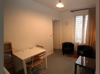 Montmartre: 2-pièces meublé pour deux ami(e)s