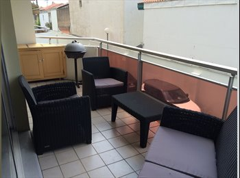 Appartager FR - T3 à Biarritz ch 1 colocataire (2 grandes terrasses+garage-) - Biarritz, Biarritz - 430 € /Mois