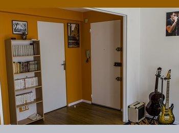 Appartager FR - Colocation d'un bel appartement F3 à Metz Saulcy - Metz, Metz - 310 € /Mois