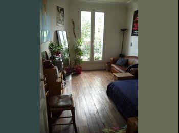 Appartager FR - Recherche 3ième coloc / Appart 60m2 / 3 Chambres - 19ème Arrondissement, Paris - Ile De France - 500 € /Mois
