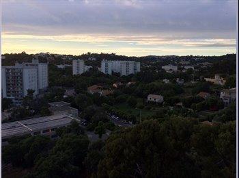 Appartager FR - Chambre à louer dans appart 82 m2 standing - 11ème Arrondissement, Marseille - 400 € /Mois