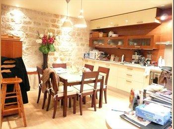 1 Chambre spacieuse 16 m2 dans maison-loft Asnieres 92