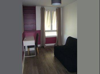 Chambre dans appartement meublé
