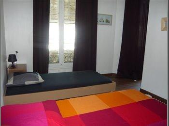 Loue chambre double plein centre-ville de Nice