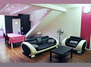 Appartager FR - T4 duplex en colocation/ 3 chambres/ Les Minimes/ Quartier étudiant - La Rochelle, La Rochelle - 390 € /Mois