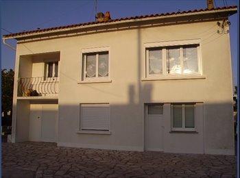 Appartager FR - colocation pour 3 personnes eau,chauffage,électricité,internet,ordures ménagères compris - Aytré, La Rochelle - 390 € /Mois