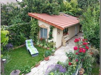 Studio indépendant dans un jardin