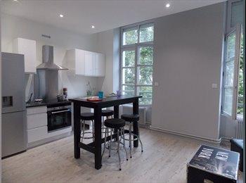Appartager FR - T3 neuf meuble 2 chambres indépendantes avec SdB - Saint-Etienne, Saint-Etienne - 375 € /Mois