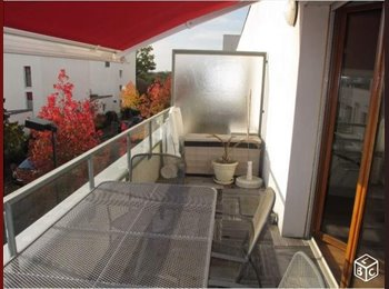 Appartager FR - colocation appartement/belle terrasse / Rennes-St Jacques - Proche Ker Lann / Villejean - Cleunay - Arsenal - Redon, Rennes - 290 € /Mois