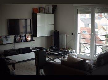 appartement sympathique à vivre avec de grands espaces