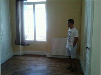 Appartager FR - Cherche colocataire appartement en plein centre ville 50 m2 pour 250€ charge comprise - Angers, Angers - 250 € /Mois