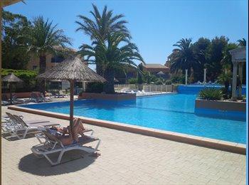 T3 en duplex, terrasses piscine