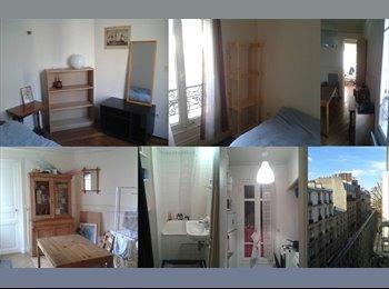 Appartager FR - Chambre dans appartement haussmanien 17e - 17ème Arrondissement, Paris - Ile De France - 500 € /Mois