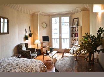 Appartager FR - Grand appartement, 3 pièces - 20ème Arrondissement, Paris - Ile De France - 700 € /Mois