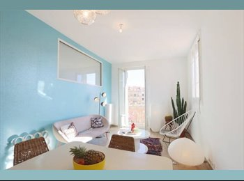 Appartager FR - Charmant appartement à partager, plein centre, 2 chambres - Cœur de Ville, Nice - 1000 € /Mois