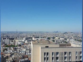 Appartager FR - Place des Fêtes - 19ème Arrondissement, Paris - Ile De France - 650 € /Mois