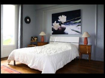Appartager FR - Loue 3 chambres meublées dans un appartement entièrement rénové - Lorient, Lorient - 390 € /Mois