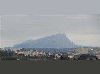 Appartager FR - AIX OUEST CHAMBRE MEUBLEE - Aix-en-Provence, Aix-en-Provence - 360 € /Mois