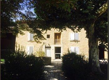 Appartager FR - Colocation Mas Provençal - Monteux, Carpentras - 350 € /Mois
