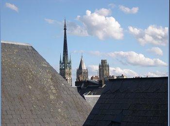 Appartager FR - chambre à louer rouen centre chez l'habitant, Rouen - 300 € /Mois