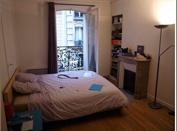 Appartager FR - Belle chambre dans colocation / T5 Anvers - Poissonnière  - 9ème Arrondissement, Paris - Ile De France - 858 € /Mois
