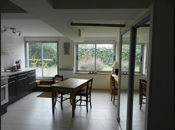 Appartager FR - grand studio meublé sur jardin aux minimes - Compans, Toulouse - 560 € /Mois