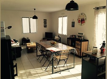 Appartager FR - Maison neuve 70m2+terrain+garage+terasse  - Beaurepaire, Beaurepaire - 490 € /Mois