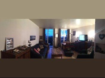 Appartager FR - Chambre dans grand T4 proche Metro Jean Jaurès - Boulogne-Billancourt, Paris - Ile De France - 750 € /Mois