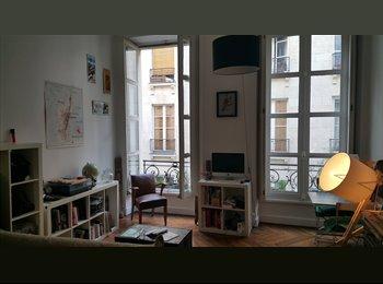 Appartager FR - Loue chambre mois de septembre paris 2e - 2ème Arrondissement, Paris - Ile De France - 650 € /Mois