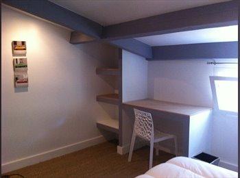 Appt T4 duplex meublé indépendant dans villa quartier...