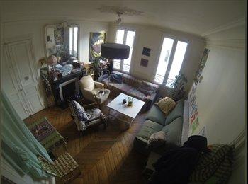 Appartager FR - Chouette coloc dans le 18ème - 18ème Arrondissement, Paris - Ile De France - 650 € /Mois