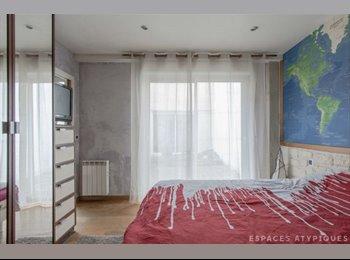 Appartager FR - Chambre dans le 19ème  - 19ème Arrondissement, Paris - Ile De France - 750 € /Mois