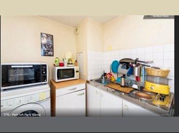Appartager FR - Appartement à louer - 18ème Arrondissement, Paris - Ile De France - 500 € /Mois