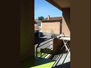 Appartager FR - Cherche 1 colocataire - T3 Les Argoulets - Marengo - Jolimont, Toulouse - 380 € /Mois