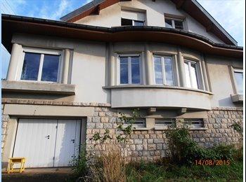 Appartager FR - loue en colocation maison de ville  - Besançon, Besançon - 1200 € /Mois