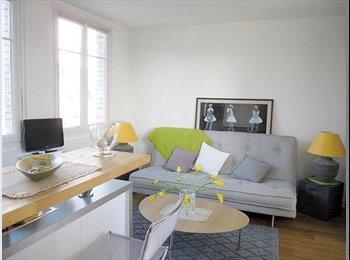 Appartager FR - Studio Meublé, Refait Neuf - 16ème Arrondissement, Paris - Ile De France - 550 € /Mois