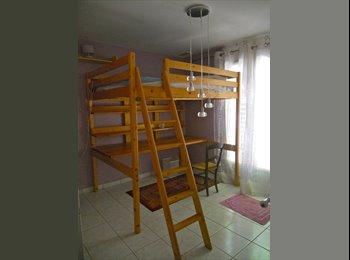 Appartager FR - chambre chez l'habitant dans villa avec jardin - Bon-Encontre, Agen - 350 € /Mois
