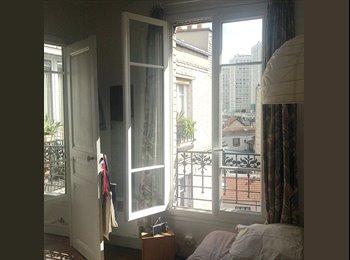 Appartager FR - Jolie chambre dans le quartier des Buttes Chaumont - 19ème Arrondissement, Paris - Ile De France - 450 € /Mois