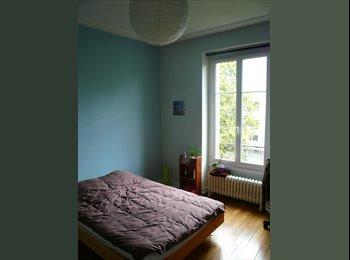 Appartager FR - Chambre meublée dans colocation – fac de lettres - URGENT - Boudonville, Scarpone, Libération, Nancy - 273 € /Mois