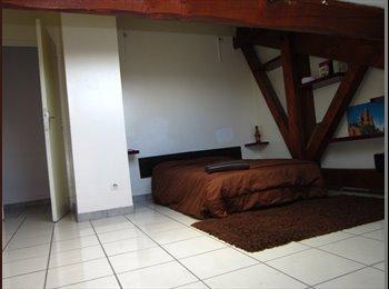 Appartager FR - grand chambre  avec grand lit  - Saint-Etienne, Saint-Etienne - 180 € /Mois