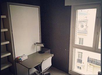 Appartager FR -  Chambre à louer, Quartier Gare du Nord - Canal Saint-Martin  - 10ème Arrondissement, Paris - Ile De France - 700 € /Mois