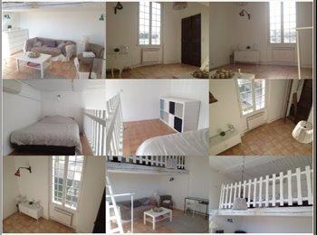 Appartager FR - Chambre très spacieuse meublée dans une belle maison de caractère - 13ème Arrondissement, Marseille - 500 € /Mois