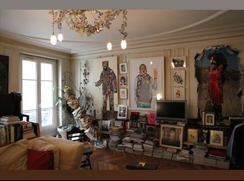 €850 / 18m2 - 18 sq mt furnished room in a sharing flat...